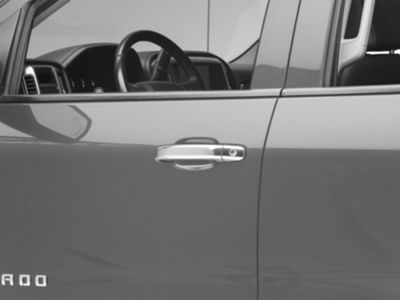 Chrome Door Handle Covers (14-18 Silverado 1500 Double Cab