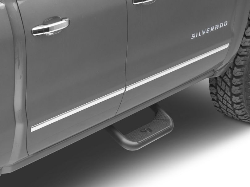 Carr Super Hoop Steps - Black (99-18 Silverado 1500)