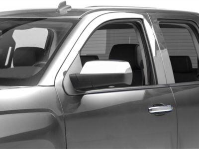 Putco Chrome Upper Mirror Covers - Replacement (14-18 Silverado 1500)