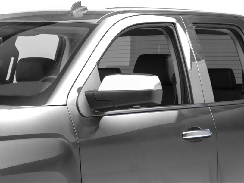 Chrome Upper Mirror Covers - Replacement (14-18 Silverado 1500)