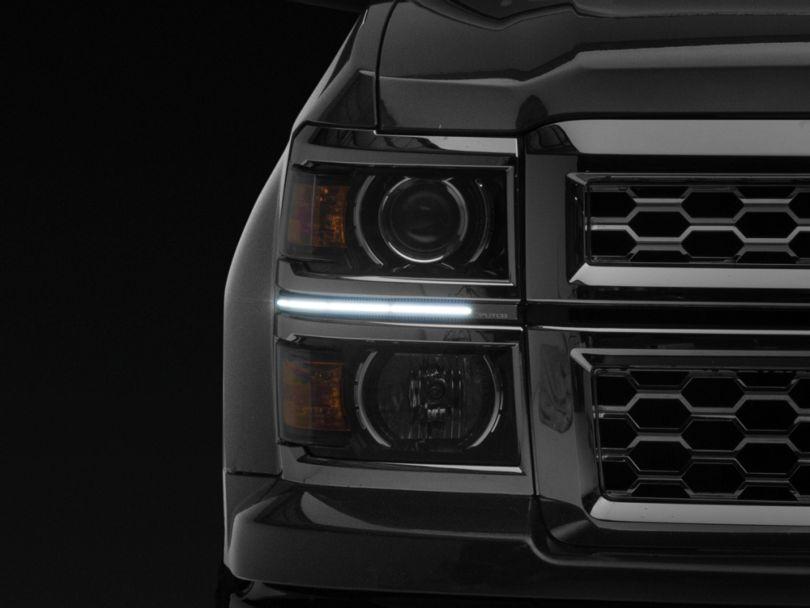 Putco SwitchBack LED DayLiners - Polished (14-15 Silverado 1500)
