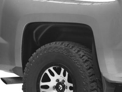 Husky Rear Wheel Well Guards - Black (14-18 Silverado 1500)