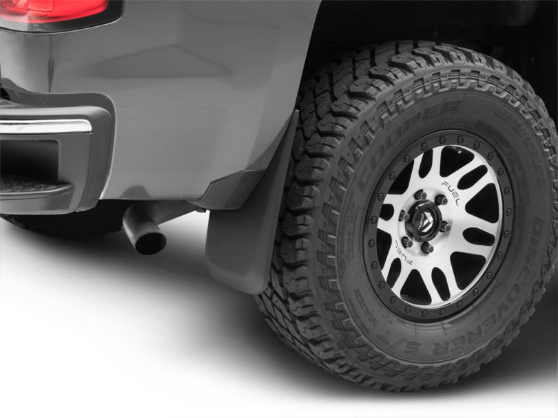 Husky Custom Molded Rear Mud Guards (14-18 Silverado 1500)