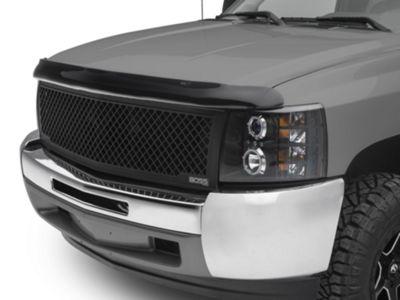 Weathertech Stone & Bug Deflector - Dark Smoke (07-13 Silverado 1500, Excluding Hybrid)