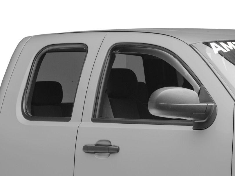 2014-2019 Chevy Silverado Wade In-Channel Window ... |White Silverado Window Deflectors