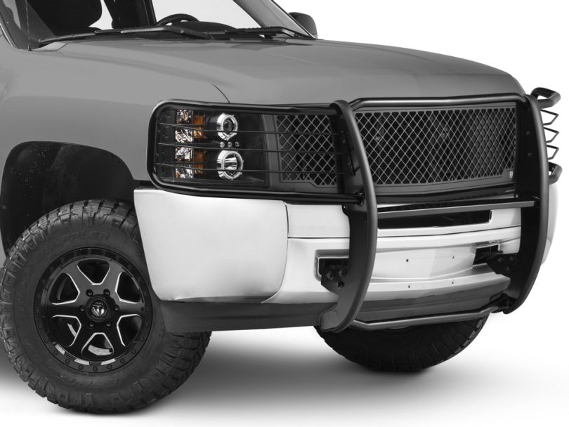 Barricade Brush Guard; Black (07-13 Silverado 1500)