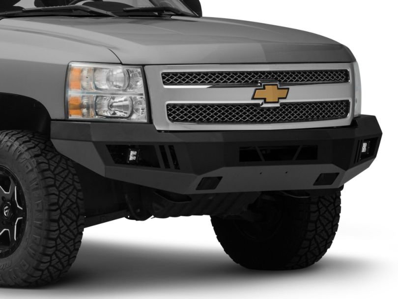 Barricade Extreme HD Front Bumper with LED Fog Lights (07-13 Silverado 1500)