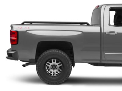Stainless Steel for Silverado 1500 Short Box 2014-2015 Duratrek Bed Rails