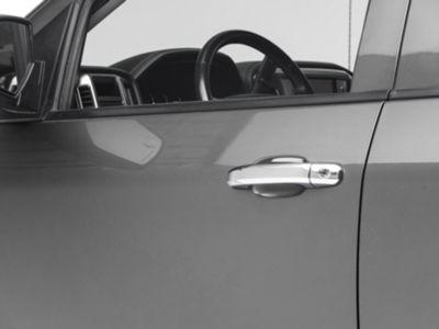 Putco Chrome Door Handle Covers - w/o Passenger Keyhole (14-18 Silverado 1500 Double Cab, Crew Cab)