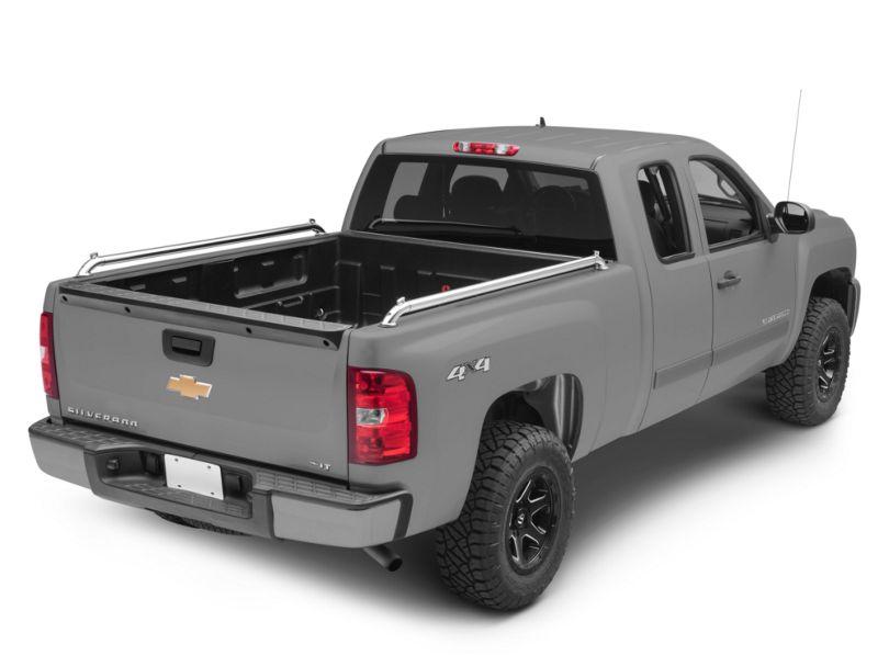 Pop Up Locker Side Bed Rails (07-13 Silverado 1500)