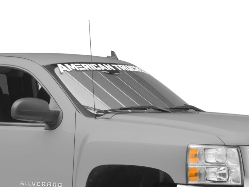 Covercraft UVS100 Custom Sunscreen; Blue (07-13 Silverado 1500)