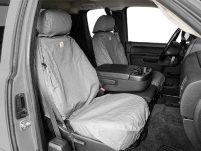 2 Front Bucket Fabric Car Seat Cover Compatible For Audi M1410 Black