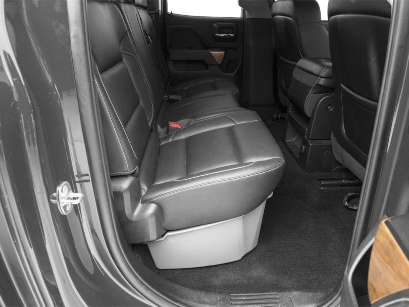 Underseat Storage - Ash Gray (14-18 Silverado 1500 Double Cab, Crew Cab)