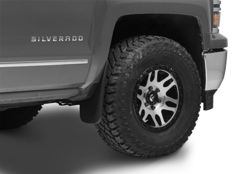 Husky Front & Rear Mud Guards (14-18 Silverado 1500)