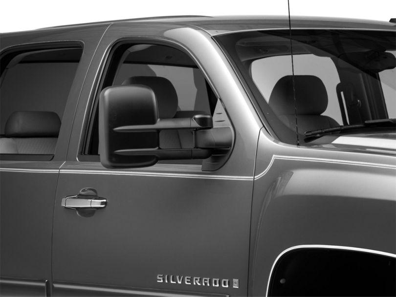 OPR Powered Heated Foldaway Telescopic Towing Mirror - Textured Black (07-13 Silverado 1500)