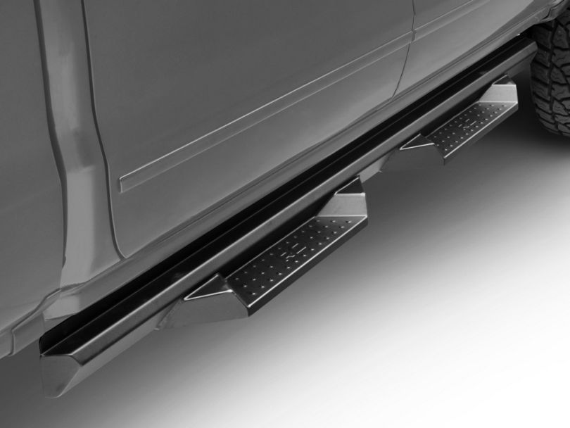 Rough Country Cab Length DS2 Drop Side Step Bars (07-18 Silverado 1500 Crew Cab)