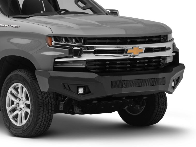 Barricade HD Off-Road Front Bumper w/ LED Fog Lights (19-20 Silverado 1500)