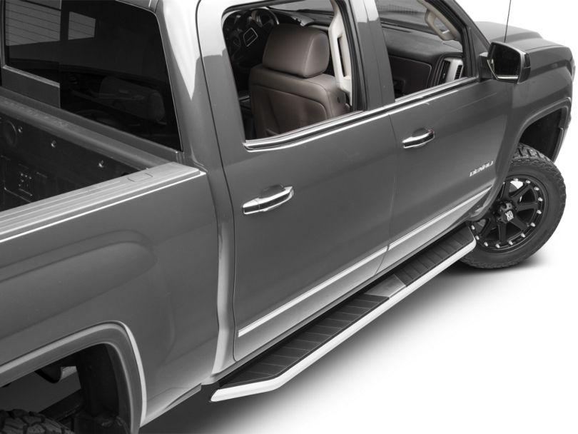 Barricade Pioneer Aluminum Running Boards (14-18 Sierra 1500 Double Cab, Crew Cab)