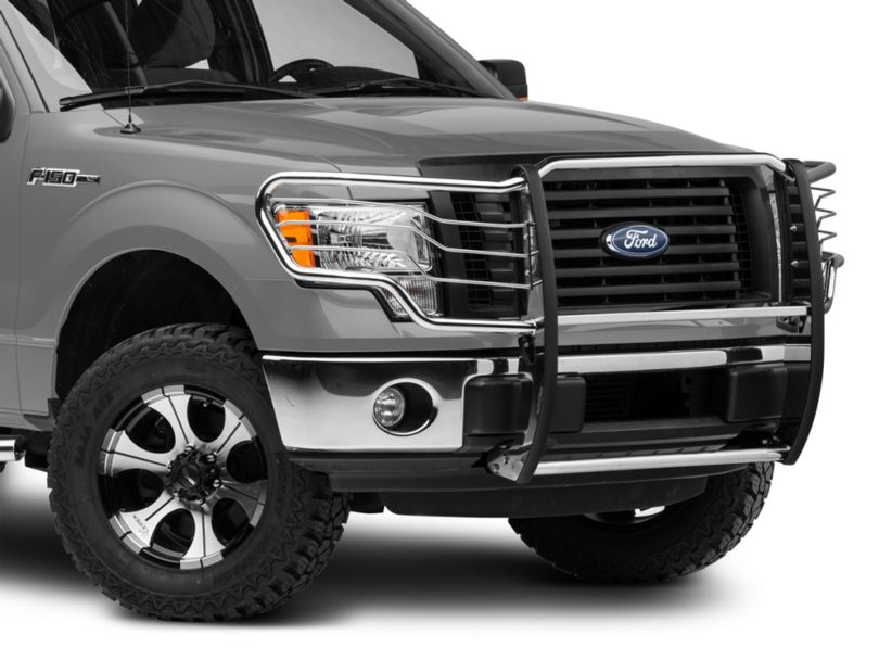 Barricade Brush Guard; Stainless Steel (09-14 F-150, Excluding Raptor)