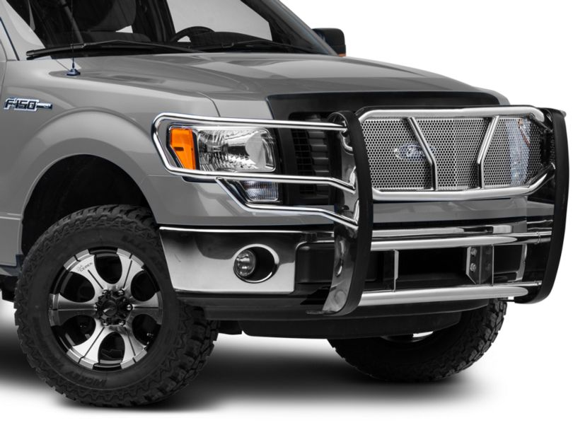 Barricade Xtreme Heavy Duty Brush Guard - Polished SS (09-14 F-150, Excluding Raptor)
