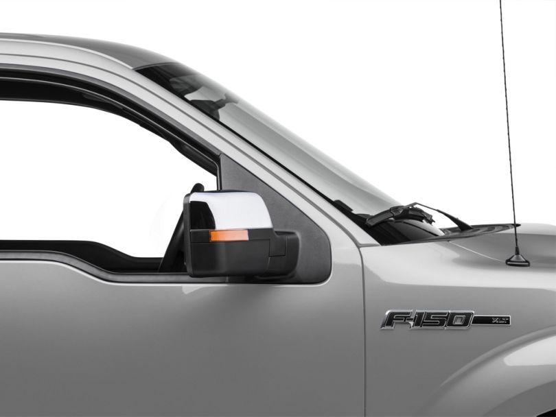 SpeedForm Performance Powered Non-Heated Mirrors; Chrome (04-12 F-150)