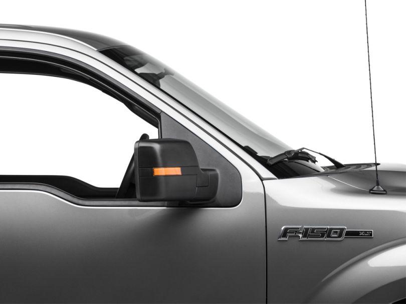 SpeedForm Performance Powered Mirrors; Black (04-12 F-150)