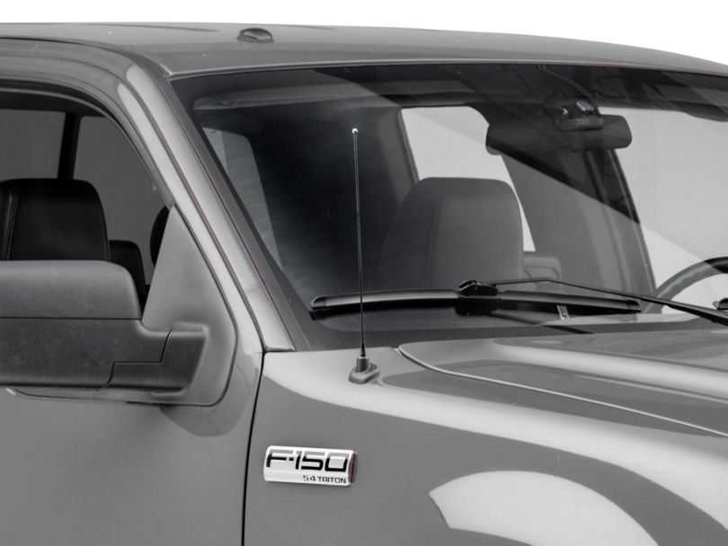 SpeedForm Fixed Black Antenna - 14 in. (97-08 F-150)