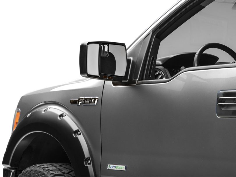 Custom Towing Mirror; Driver Side (04-14 F-150 w/ Standard Mirrors)