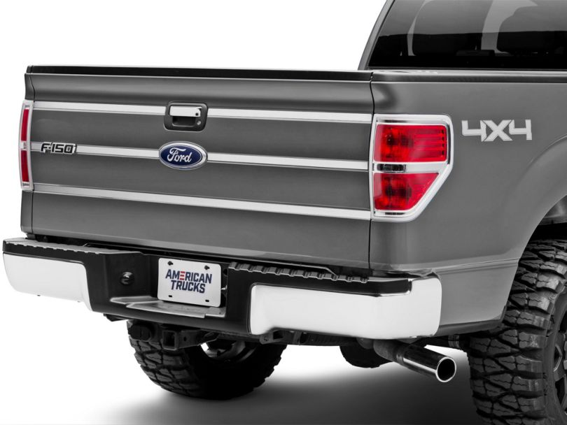 Stainless Steel Tailgate Accent Trim (09-14 F-150 Styleside)