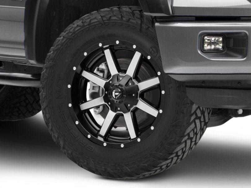 Fuel Wheels Maverick Black Machined 6-Lug Wheel - 20x9 (15-19 F-150)
