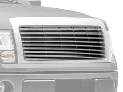T-REX Billet Series 1-Piece Upper Grille Insert - Polished (13-14 F-150, Excluding Raptor & Platinum)