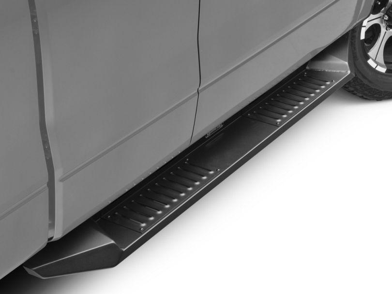 Barricade HD Steel Running Boards - Black (09-14 F-150 SuperCab, SuperCrew)