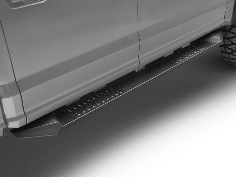 Barricade HD Steel Running Boards - Black (15-19 F-150 SuperCab, SuperCrew)
