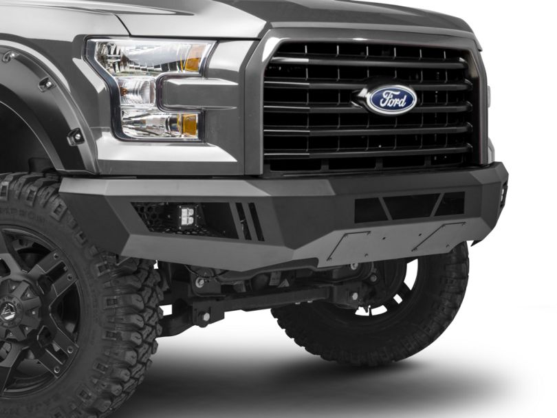 Barricade Extreme HD Front Bumper with LED Fog Lights (15-17 F-150, Excluding Raptor)