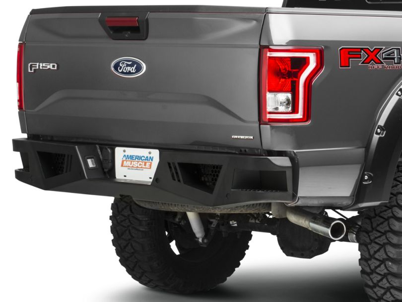 Barricade Extreme HD Rear Bumper for Aftermarket Hitches (15-20 F-150, Excluding Raptor)