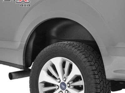 Add Husky Rear Wheel Well Guards - Black (15-17 All, Excluding Raptor)