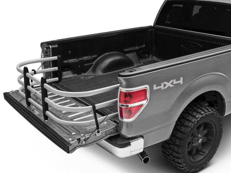 Amp Research Bedxtender HD Max; Deep; Silver (04-20 F-150 Styleside)