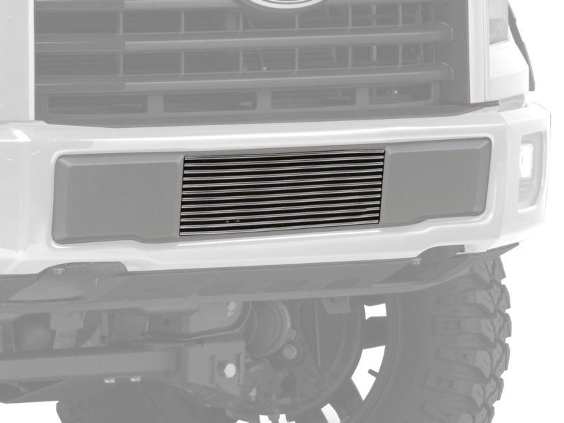 Modern Billet Lower Bumper Grille Insert - Polished (15-17 F-150, Excluding Raptor)