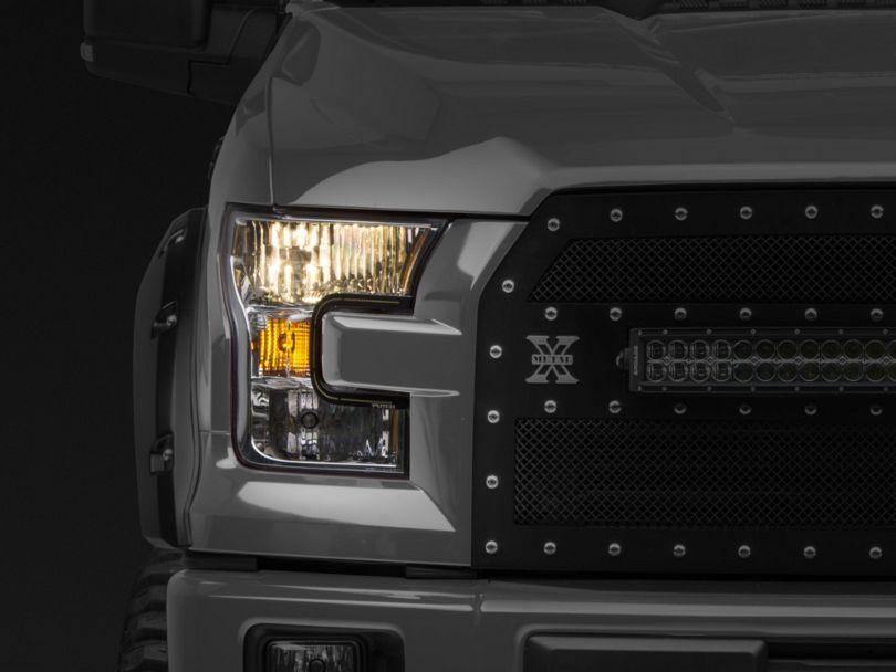 Putco SwitchBack LED DayLiners; Black (15-17 F-150; 2018 F-150 Raptor)