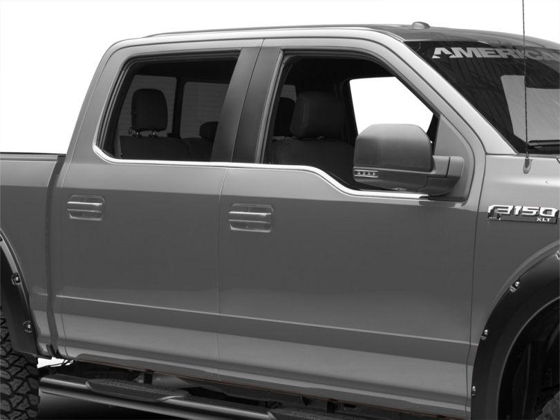 ABS Window Trim - Chrome (15-19 F-150)