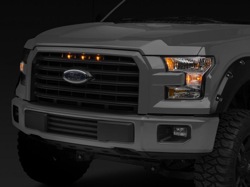 Raptor Style 5 Bar Grille Light Kit - Plug-and-Play (15-17 F-150 XLT; 2017 F-150 XL w/ STX Package)