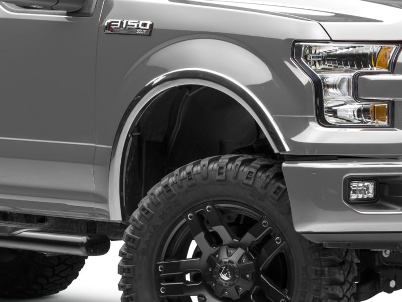 Stainless Steel X-Fender Flares - Polished (15-17 F-150 w/o OEM Flares)
