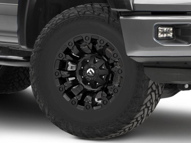 Fuel Wheels Vapor Matte Black 6-Lug Wheel; 17x9; -12mm Offset (15-20 F-150)