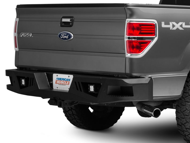 Barricade Extreme HD Rear Bumper with LED Fog Lights (06-14 F-150)