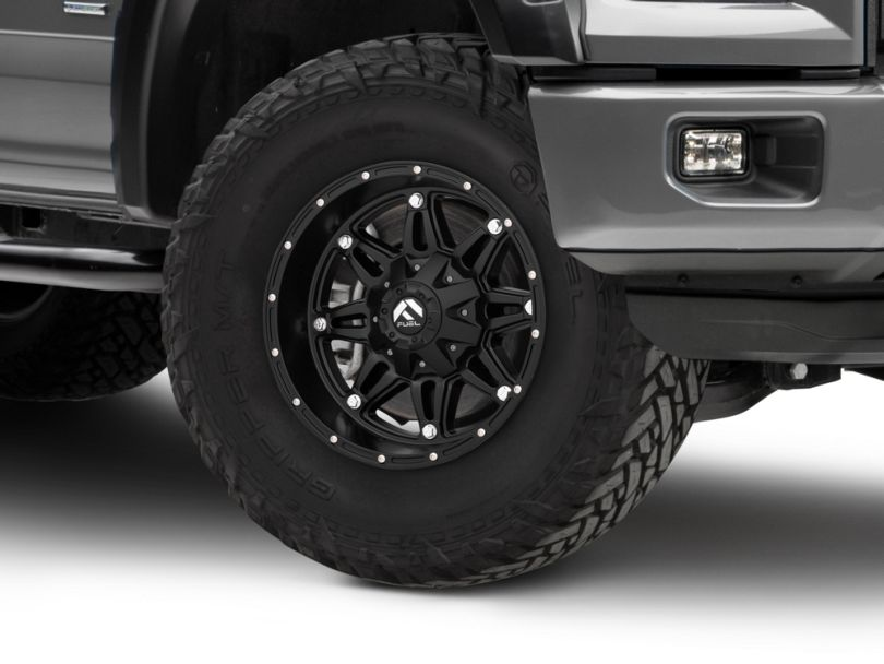 Fuel Wheels Hostage Matte Black 5-Lug Wheel; 17x9 (97-03 F-150)