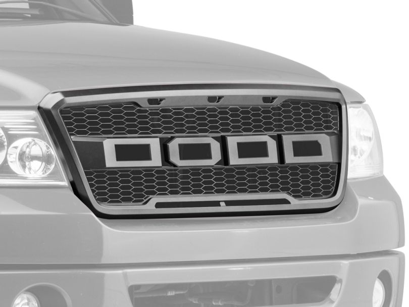 Barricade Upper Replacement Grille with LED Lighting (04-08 F-150)