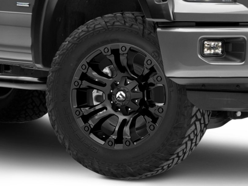 Fuel Wheels Vapor Black 6-Lug Wheel - 20x9; 1mm Offset (15-19 F-150)