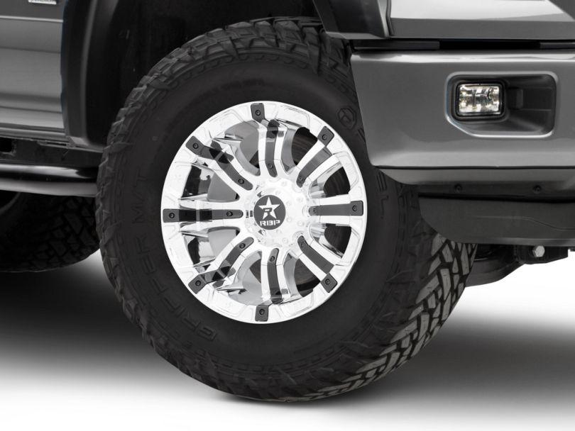 RBP 94R Chrome w/ Black Inserts 6-Lug Wheel - 18x10 (15-19 F-150)