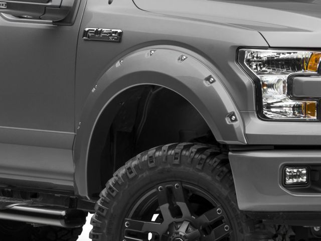 Bushwacker Pocket Style Fender Flares - Pre-painted (15-17 F-150, Excluding Raptor)