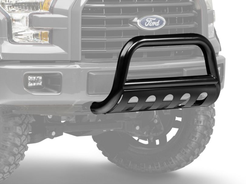Barricade 3 in. Bull Bar w/ Skid Plate - Gloss Black (04-20 F-150, Excluding EcoBoost & Raptor)